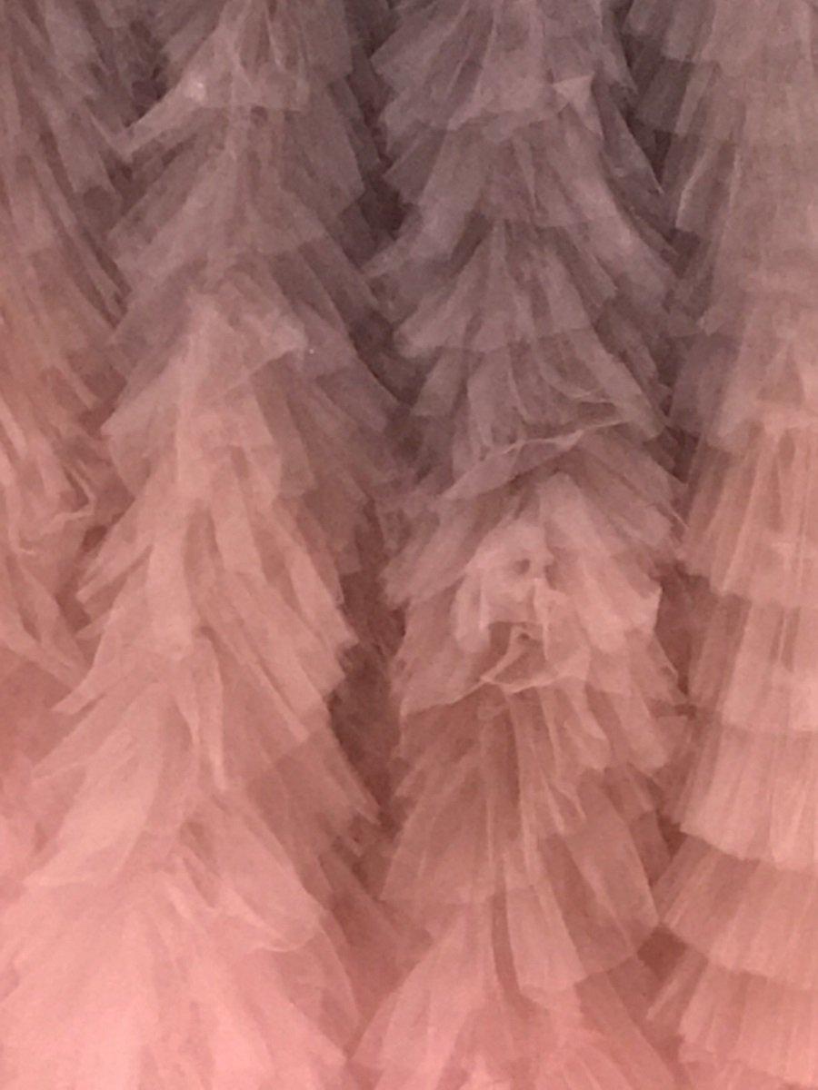 Dior pink ruffles