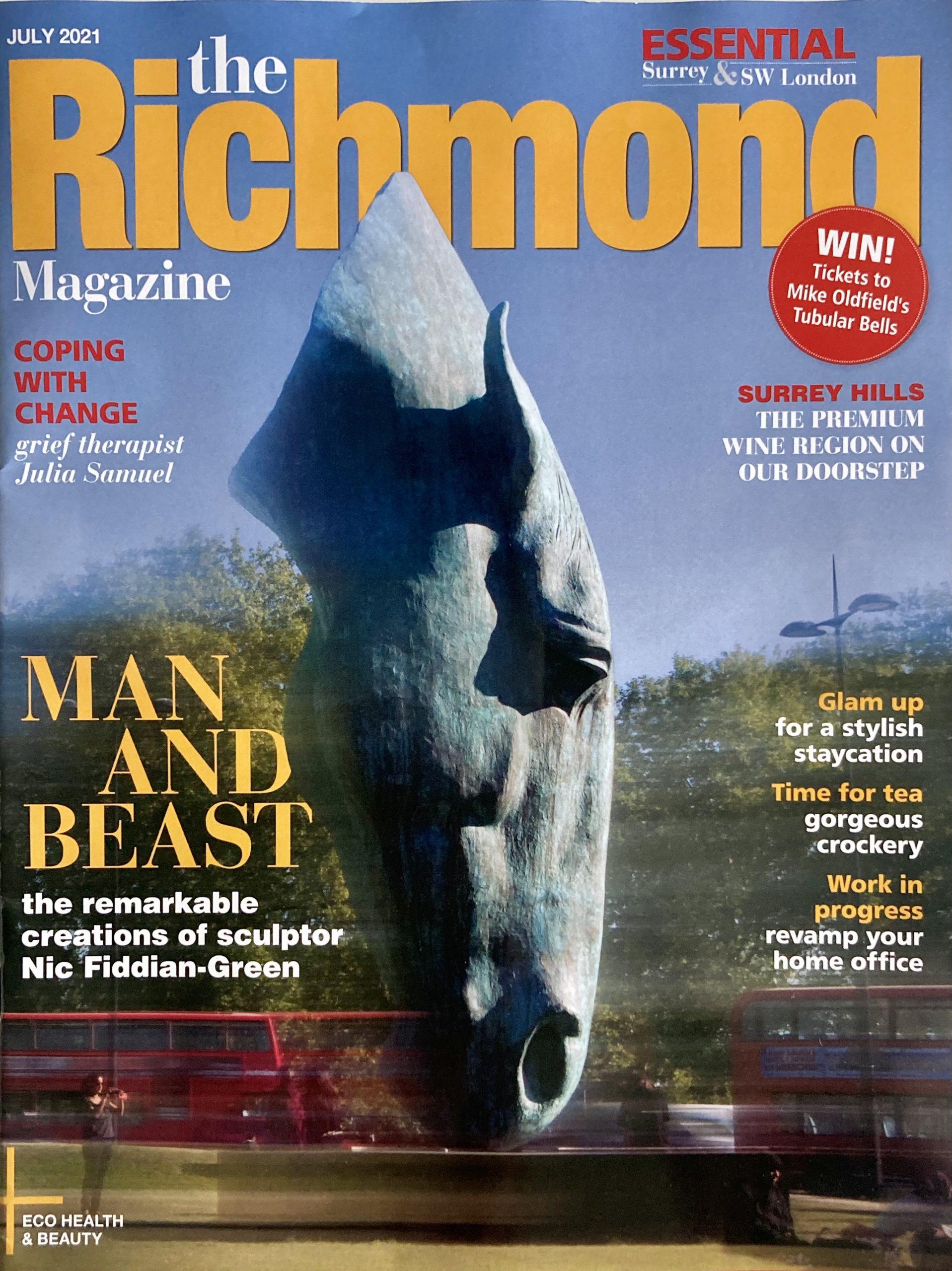 cover of July2021 Richmond Magazine